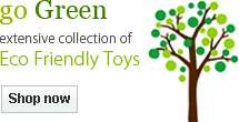 Go Green: extensive collection of Eco Friendly Toys